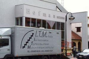 ITM bvba Inox design werken - Wuustwezel - Logo's en belettering