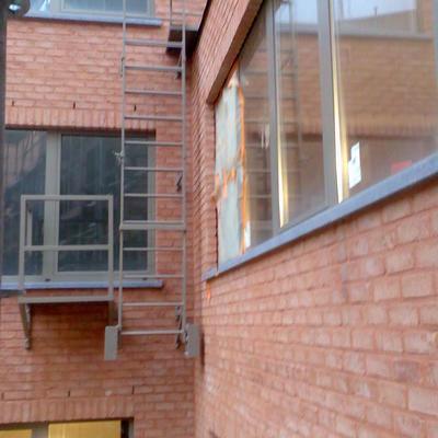 ITM bvba  - Metalen constructies - brandladders